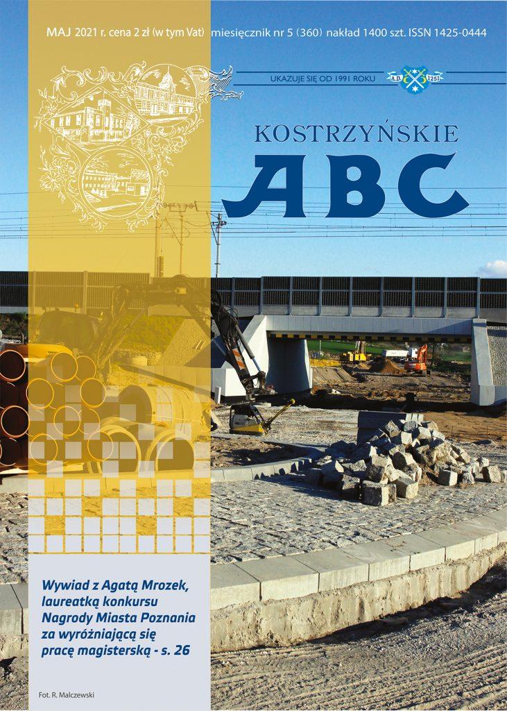 Okładka majowego wydania ABC, przedstawia budowę tunelu