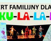 Plakat koncertu familijnego
